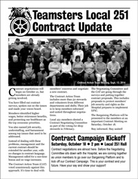 Pages from contract bulletin #1
