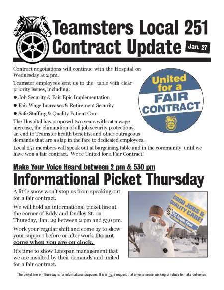 contract bulletin -- jan 27