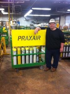 Marc Mooradian, Praxair Steward