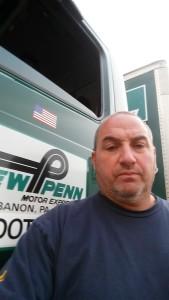New Penn road steward Todd Siniscalchi