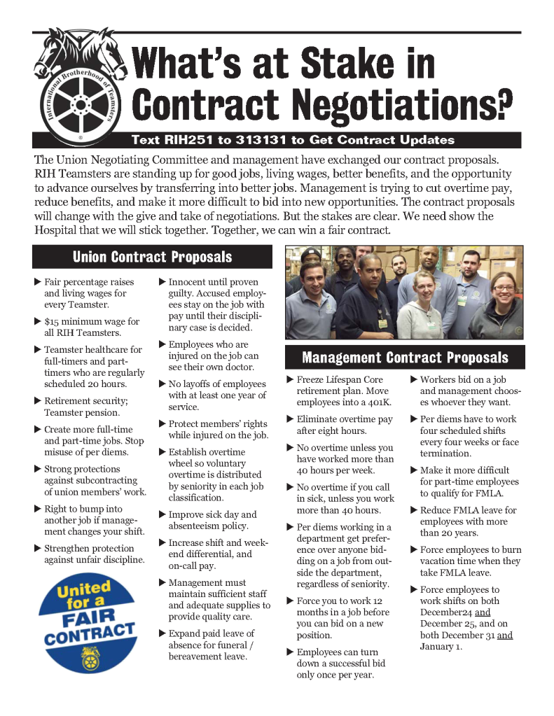 What's At Stake in RI Hospital Contract Negotiations?