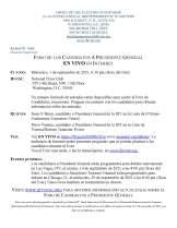 Candidates Forum Notice Bulletin Board Posting 8.19.21 SPAN